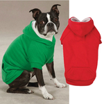 Fleece Lined Dog Hoodies