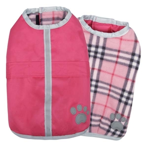 Noréaster Lined dog cover - Pink