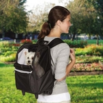 East Side Collection On the Go Rolling Backpack - (Black)